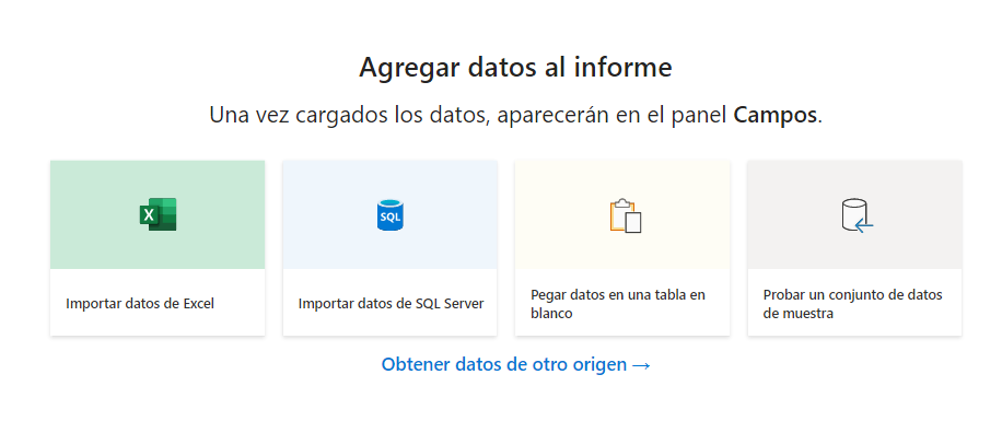 Carga de datos en Power BI