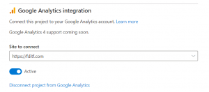 Microsoft clarity y google analytics